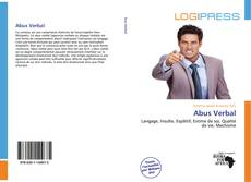 Bookcover of Abus Verbal