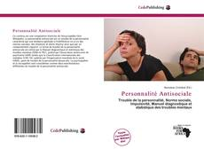 Personnalité Antisociale kitap kapağı
