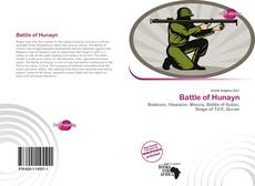 Capa do livro de Battle of Hunayn