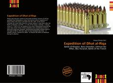 Bookcover of Expedition of Dhat al-Riqa