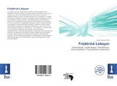 Buchcover von Frédérick Leboyer