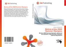 Buchcover von Bolivia at the 2000 Summer Olympics