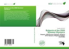 Buchcover von Bulgaria at the 2000 Summer Olympics