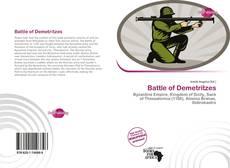 Capa do livro de Battle of Demetritzes