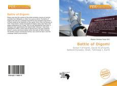 Capa do livro de Battle of Digomi