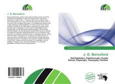 Couverture de J. D. Beresford