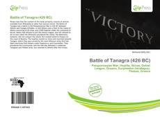 Battle of Tanagra (426 BC) kitap kapağı