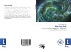 Oleksiy Gai kitap kapağı