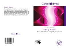 Timely Writer kitap kapağı