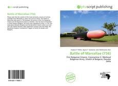 Battle of Marcellae (756) kitap kapağı
