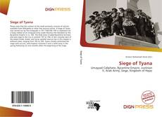 Bookcover of Siege of Tyana
