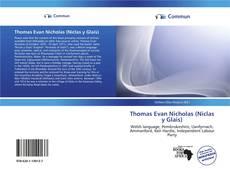 Обложка Thomas Evan Nicholas (Niclas y Glais)