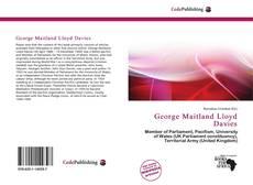 Bookcover of George Maitland Lloyd Davies