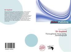 Sir Gaylord kitap kapağı