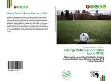 Georgi Petkov (Footballer born 1976)的封面