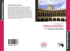 Château Saint-Maire的封面