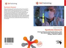 Bookcover of Synthetic Element
