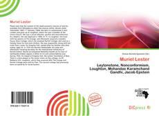 Muriel Lester kitap kapağı