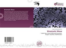 Bookcover of Kinematic Wave