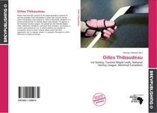 Обложка Gilles Thibaudeau