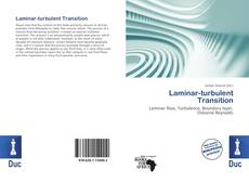 Couverture de Laminar-turbulent Transition