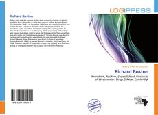 Richard Boston kitap kapağı