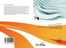 Bookcover of Lewis Number