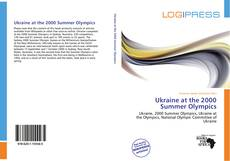 Bookcover of Ukraine at the 2000 Summer Olympics