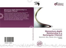 Bookcover of Momentum-depth Relationship in a Rectangular Channel