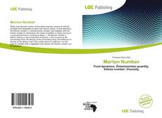 Bookcover of Morton Number