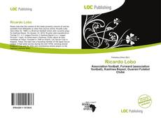 Bookcover of Ricardo Lobo