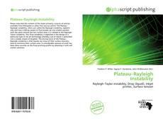 Plateau–Rayleigh Instability kitap kapağı