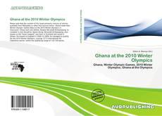 Ghana at the 2010 Winter Olympics kitap kapağı