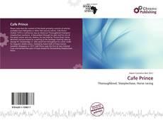 Portada del libro de Cafe Prince