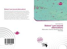 Bookcover of Stokes' Law (sound attenuation)