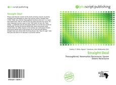 Bookcover of Straight Deal