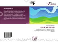 Portada del libro de Marie Desplechin
