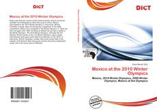 Bookcover of Mexico at the 2010 Winter Olympics