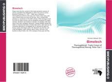 Bookcover of Bimelech