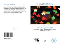 Couverture de Said Hadj Mansour