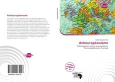 Bookcover of Antieuropéanisme