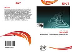 Bookcover of Match II