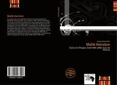 Malik Hairston kitap kapağı
