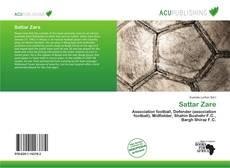 Sattar Zare kitap kapağı
