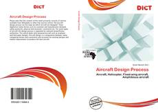 Couverture de Aircraft Design Process