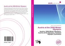 Buchcover von Austria at the 2006 Winter Olympics
