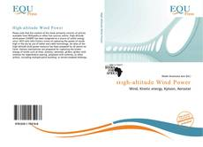 Bookcover of High-altitude Wind Power