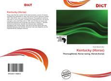 Capa do livro de Kentucky (Horse)