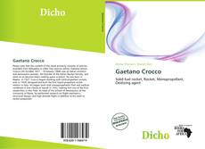 Bookcover of Gaetano Crocco