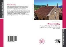 Bookcover of West Horsley